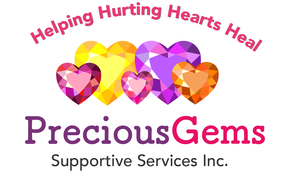 precious gems supportive services for children and teens logo